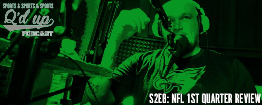 Q talks 1st quarter of the NFL.