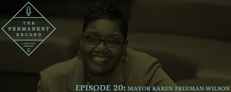 For our first episode of the new year, we spoke to the mayor of Gary, Indiana, Karen Freeman-Wilson. Mayor Freeman-Wilson co-chairs the committee on criminal and social justice for the US Conference of Mayors and helped produce that section of the mayors' agenda entitled Leadership for America: Mayors' Agenda for the Future. Read more about the Mayors' Safety and Security Plan here .  During our interview, the Mayor helped us locate Gary on a map, we talked about the importance of right-sizing our criminal justice system, and she gave us some behind the scenes scoop from her time as an Undercover Boss.