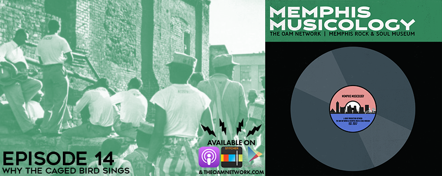 """On this episode of Memphis Musicology, we go behind bars to explore the surprisingly long history of music created in and about prisons. We begin with an exploration of The Prisonaires, a doo-wop prison quintet who made waves during the 1950s, before heading to The Crate to dissect Johnny Cash's iconic 1968 live album """"At Folsom Prison."""