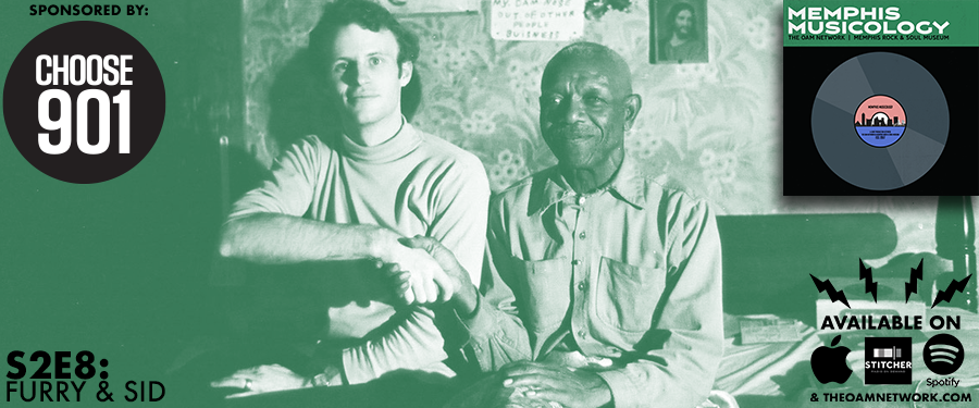 "On this episode of Memphis Musicology, we discuss the unique friendship that existed between blues legend Furry Lewis and folk singer Sid Selvidge, two musicians who navigated their vast differenced to forge one of the most storied partnerships in Memphis music history. We also head to The Crate to discuss Alex Chilton's divisive solo album ""Like Flies on Sherbert,"" a messy, free-wheeling collection of songs whose merits are still debated to this day.   SPONSOR:   Subscribe to the FREE Choose 901 newsletter TODAY @  www.Choose901.com/OAM"