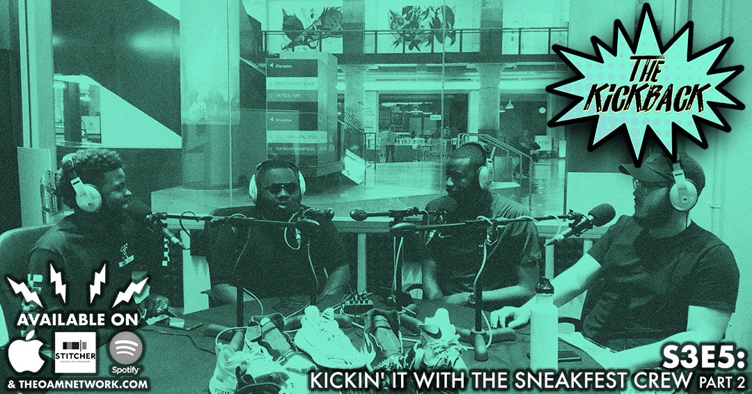 Sherman and Jerry, from the SneakFest Sneaker Expo, join the show  to talk about this year's event and what you can expect, the partnership  with the AAF and Memphis Express and the sneaker head culture. We talk  our favorite shoes, shoes that changed the game and JO and I recount  some of favorite times working at the Nike store. Sneakfest Sneaker Expo: Go to  sneakfest.org  for all the information on this year's event!