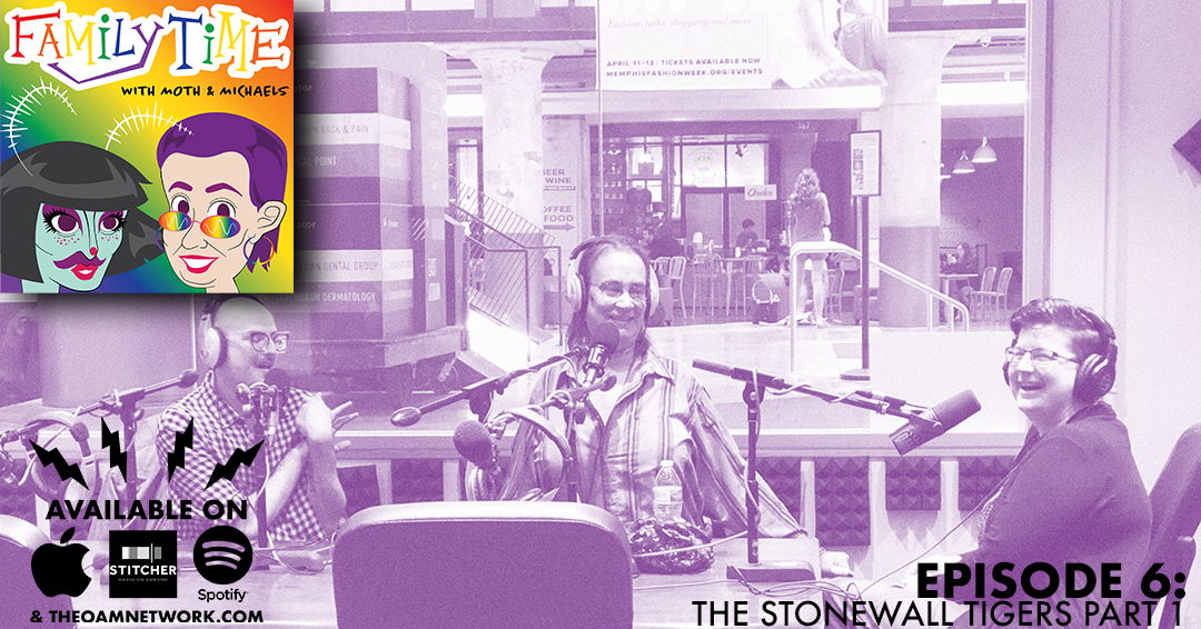 In the first of a 3 part super episode featuring The Stonewall Tigers from University of Memphis, Mothie and Lisa will be talking to precious punk rock Professor, Kendra Murphy, who is the faculty advisor for the club!