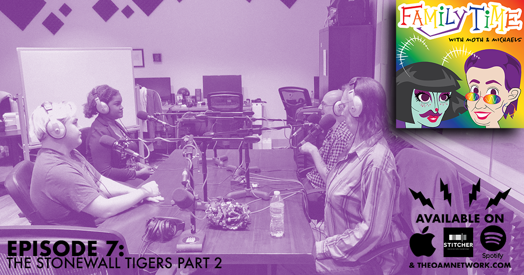 In the second part of our special episode with The Stonewall Tigers Lisa and Mothie sit down with Keaton Gilbert and Lasia Peoples to speak about their work in student organization, growing tissue, and the wild world of philosophy!