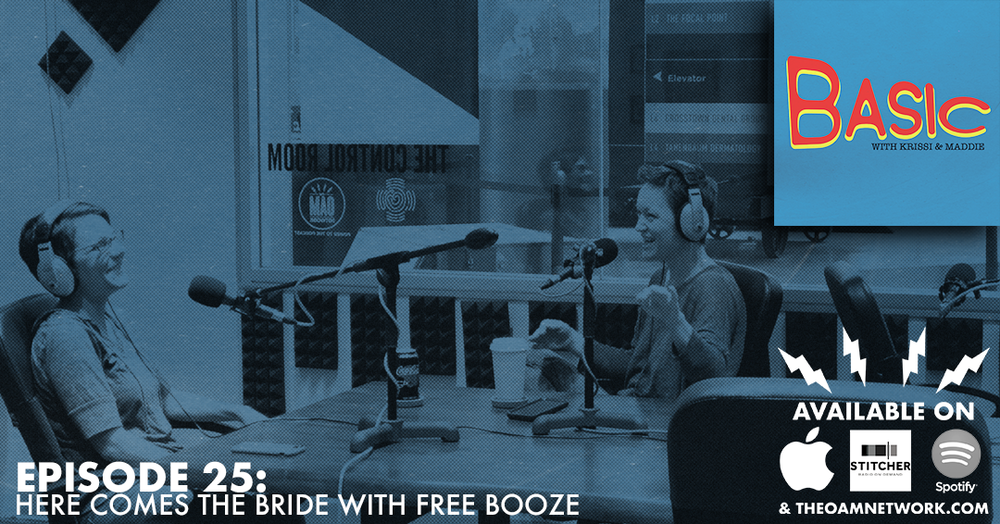 Krissi and Maddie discuss their weddings and the pressure of the wedding industry, which leads back to Maddie's love of reality TV.  Website:  http://www.theoamnetwork.com/basic  Become a Member of the Tribe:  https://www.patreon.com/Basicpodcastreal  Instagram:  https://www.instagram.com/basicpodcastreal/  Facebook:  https://www.facebook.com/basicpodcastreal/    Sponsor Basic! Email info@theoamnetwork.com TODAY!