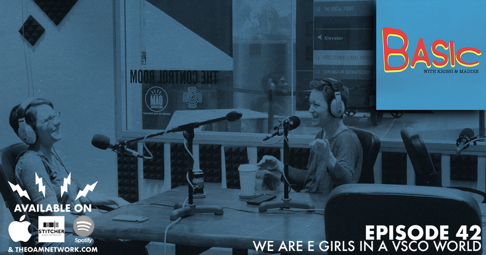 Krissi and Maddie discuss the magical world of the VSCO girl and the fun of momming preteens.   SPONSOR BASIC! EMAIL info@theoamnetwork.com  Website:  http://www.theoamnetwork.com/basic  Become a Member of the Tribe: https://www.patreon.com/Basicpodcastreal  Instagram: https://www.instagram.com/basicpodcastreal/  Facebook: https://www.facebook.com/basicpodcastreal/