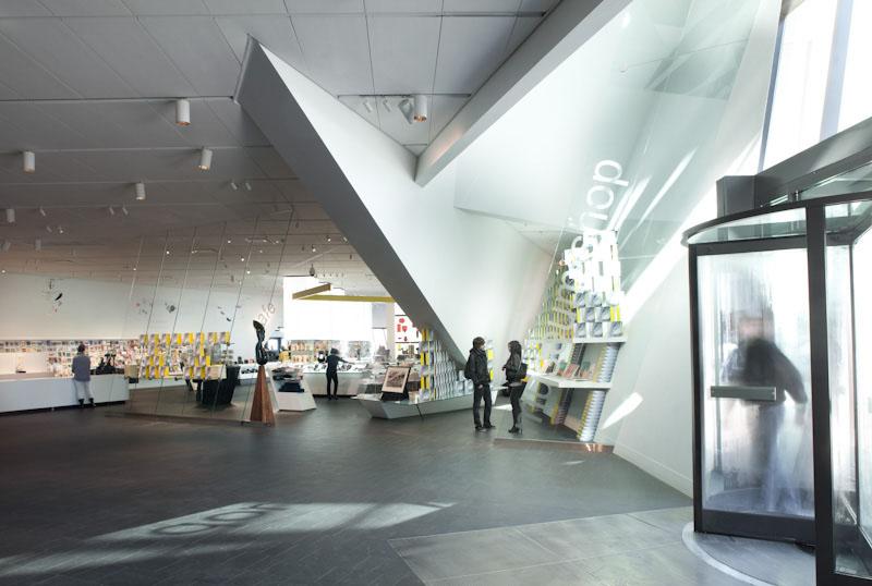 Open Modern Museum Shop   Casework Interior Design   Portland, OR