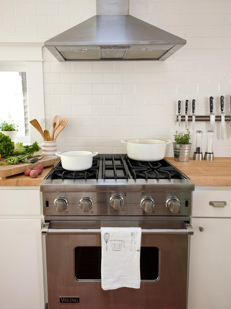 Open Bright Kitchen with Butcher Block Countertops | Casework Interior Design | Portland, OR