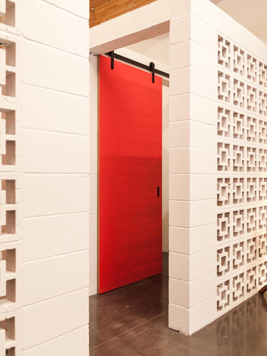 PNW Retail Dressing Room   Casework Interior Design   Portland, OR