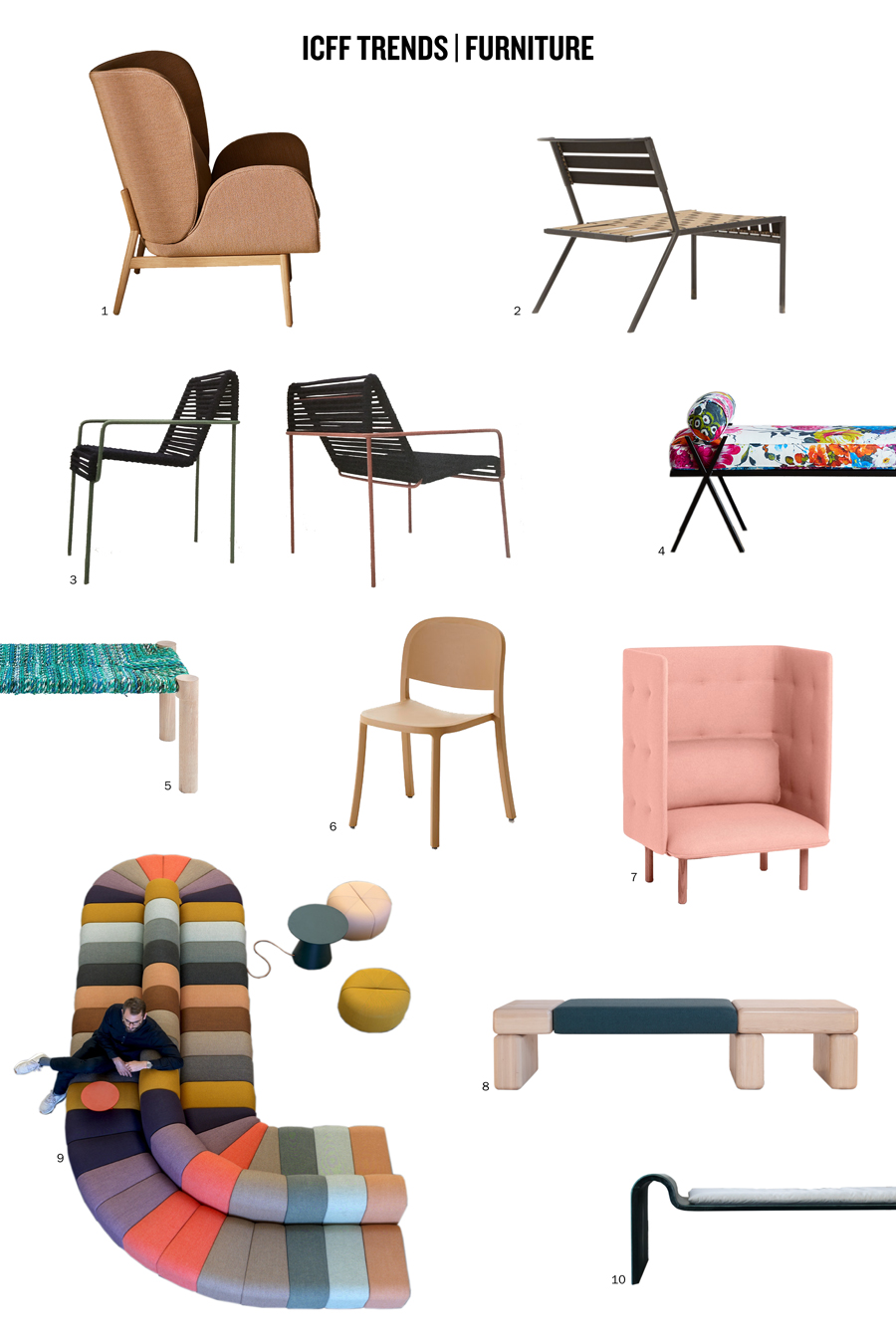 46 ICFF Interior Furniture Favorites