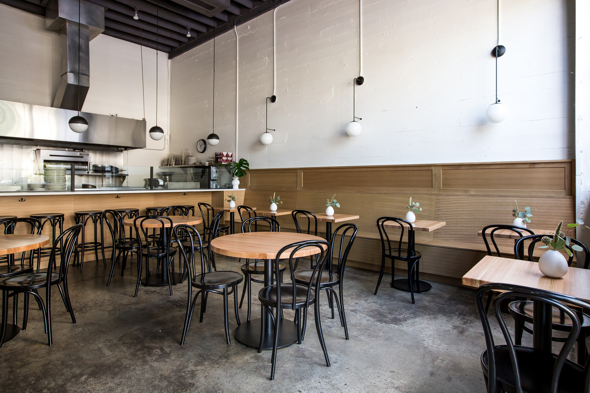 Justa Pasta Portland Oregon Italian Restaurant by Casework Interior Design photo by Carly Diaz