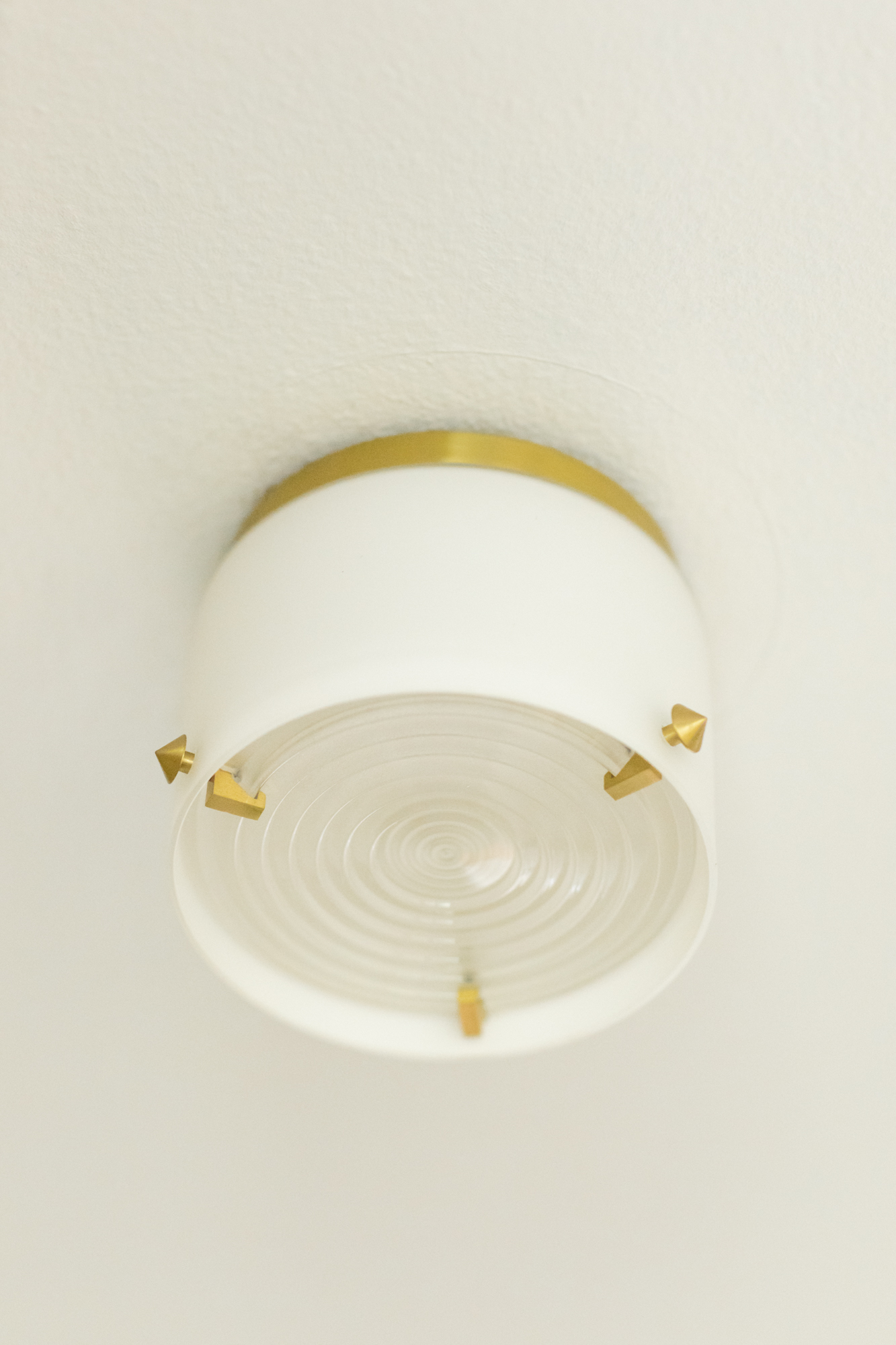 Surface Mount Light  - Hudson Valley Blackwell in Satin Brass