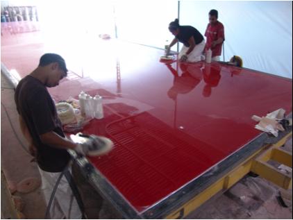 Process development: composite mold maintenance and repair