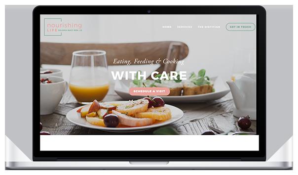 Website & Branding for Nourishing Life RDN