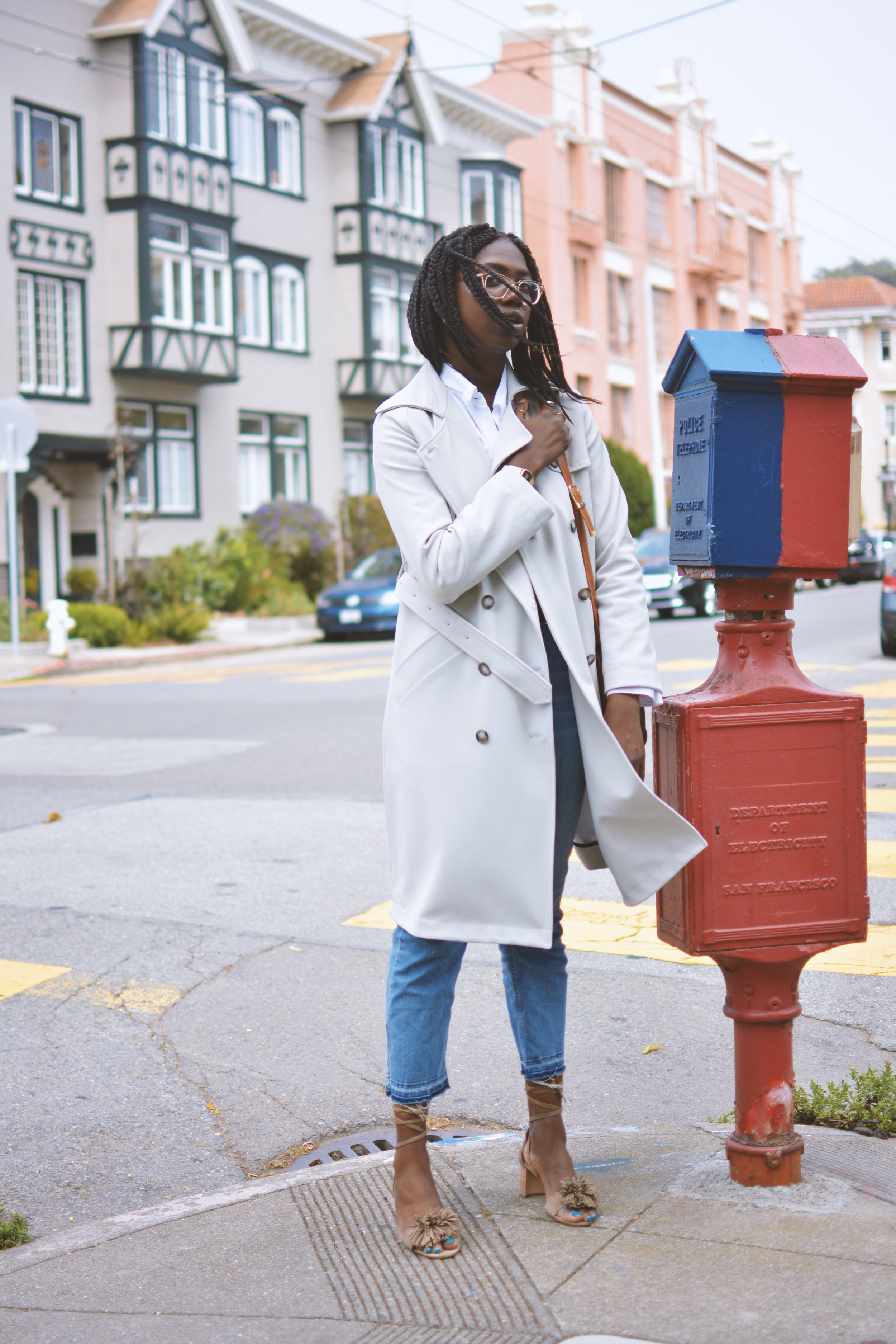 Technical Trench Coat - Click to shop here . . .