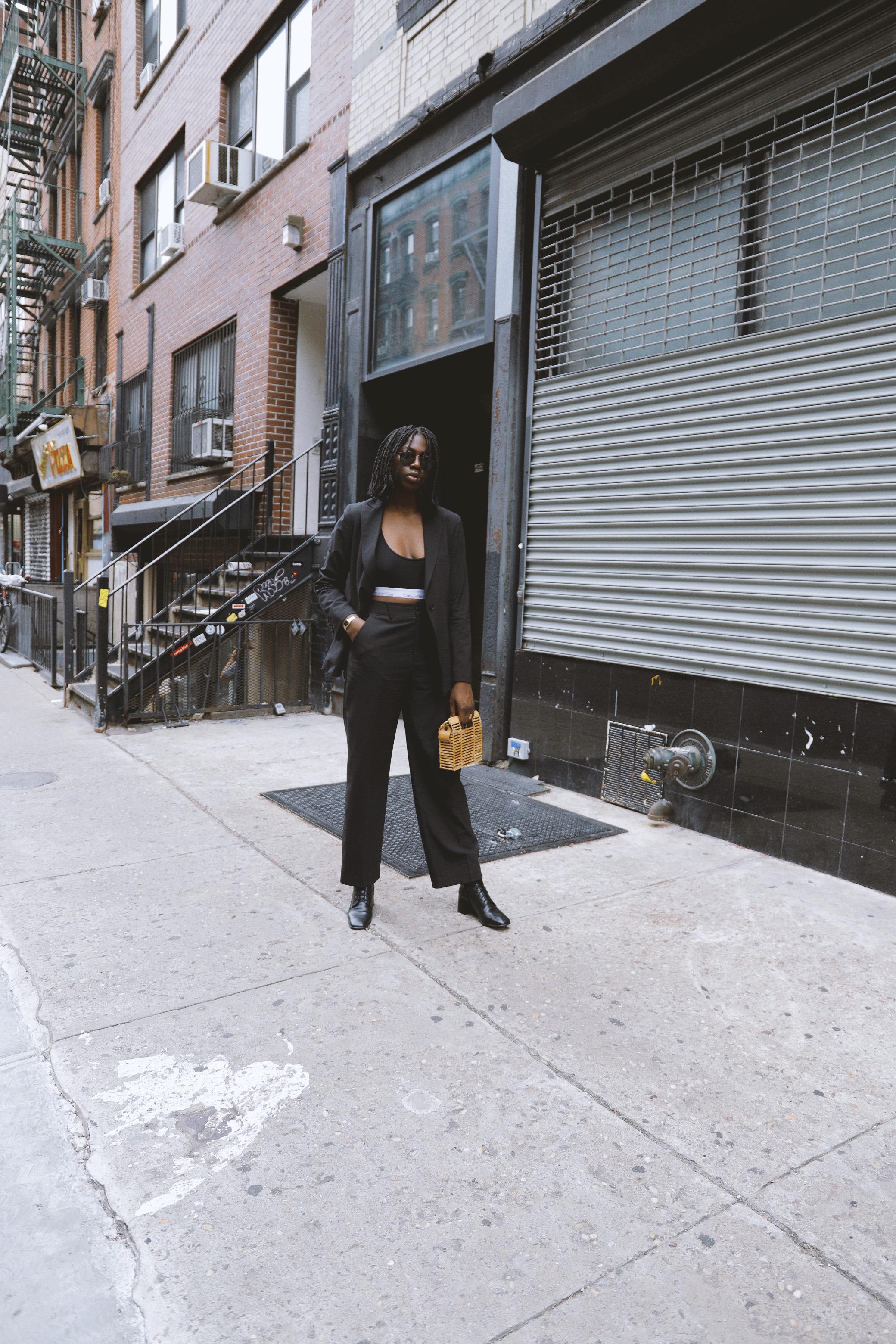 Shop the Blazer - The Black Suit