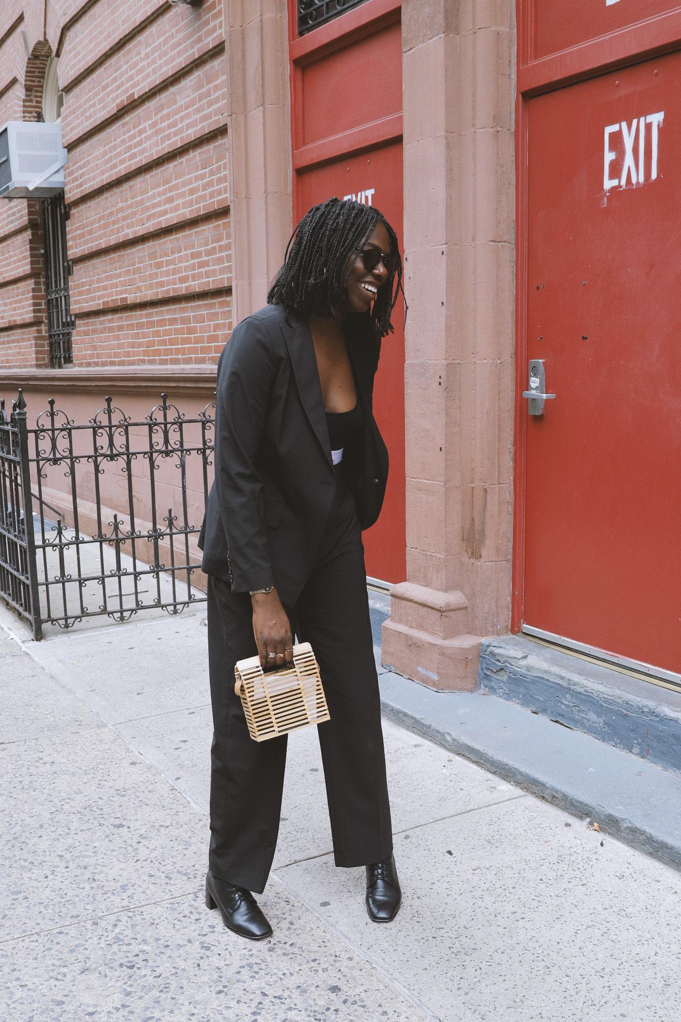 Shop the Pants - The Black Suit