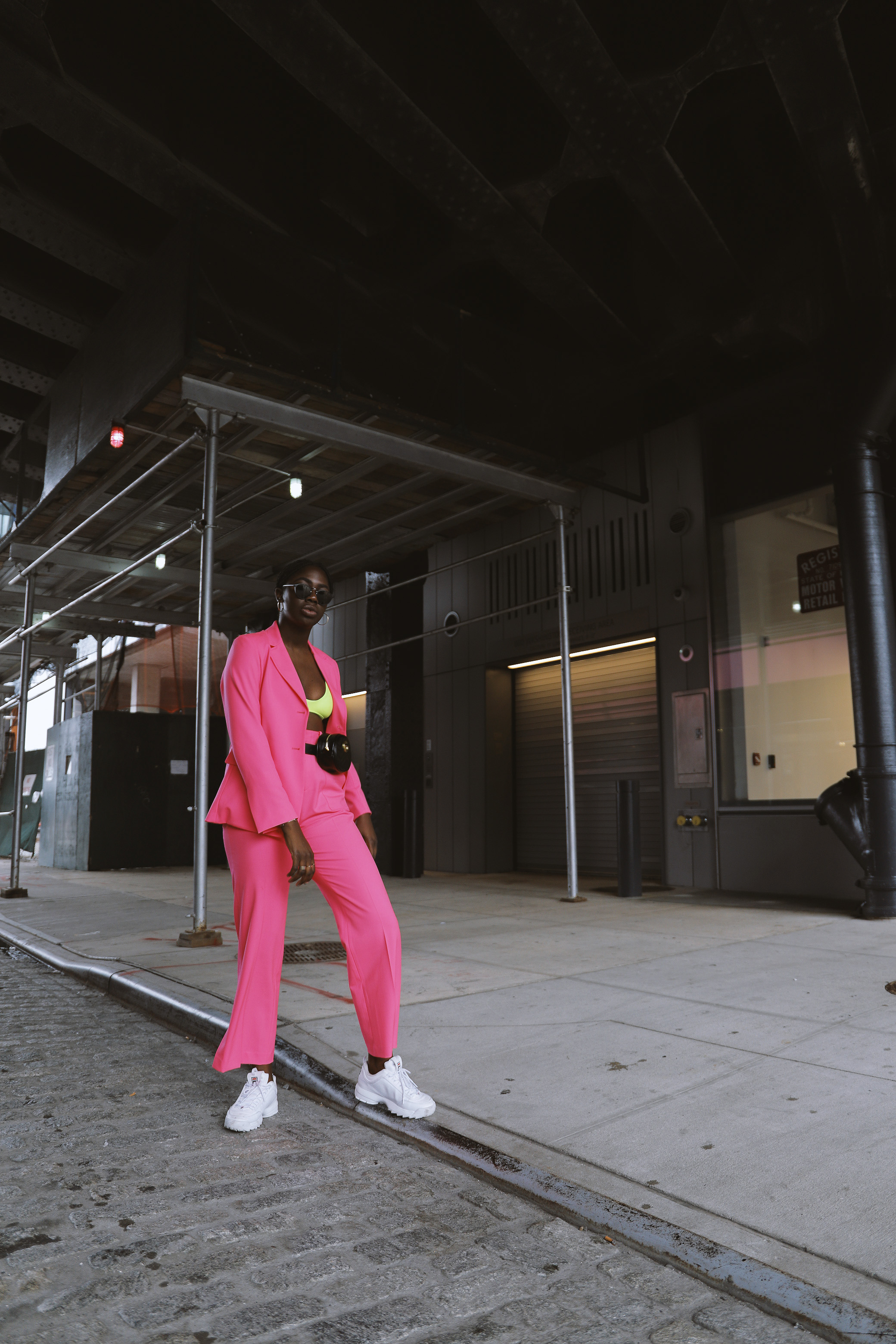 Shop the Pants - The Electric Pink Suit