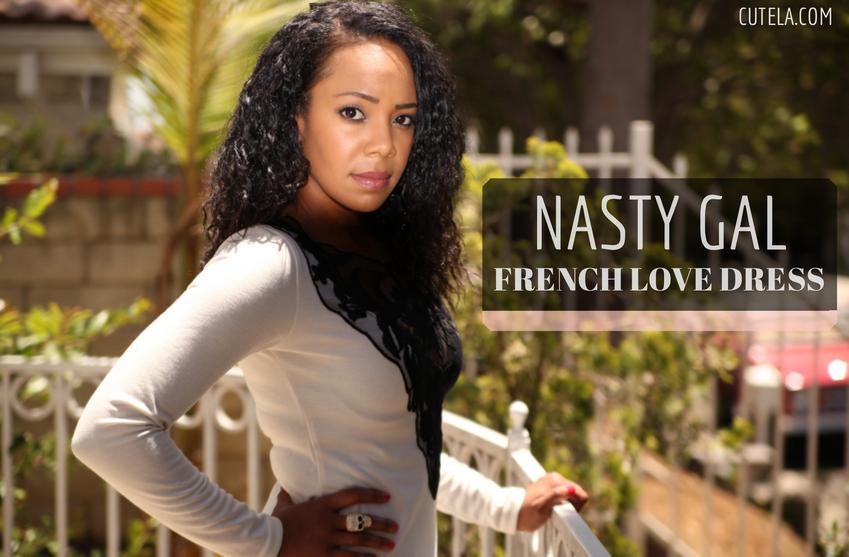 Nasty Gal French Love Dress via Cute LA
