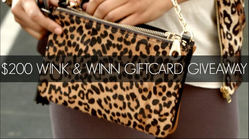 $200 Wink & Winn Giftcard Giveaway via Cute LA