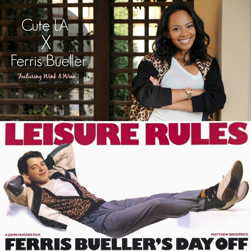 Cute LA x Ferris Bueller's Day Off - Fashion Film inspired by the John Hughes 80s Classic