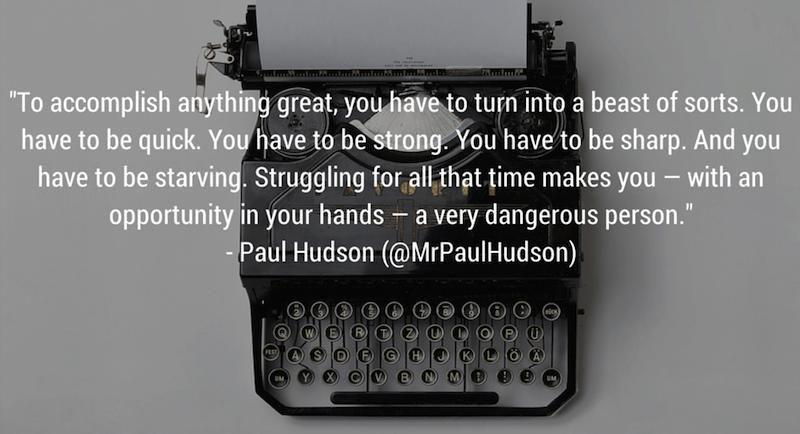 Elite Daily Writer Paul Hudson Quote Life Goals via Cute LA