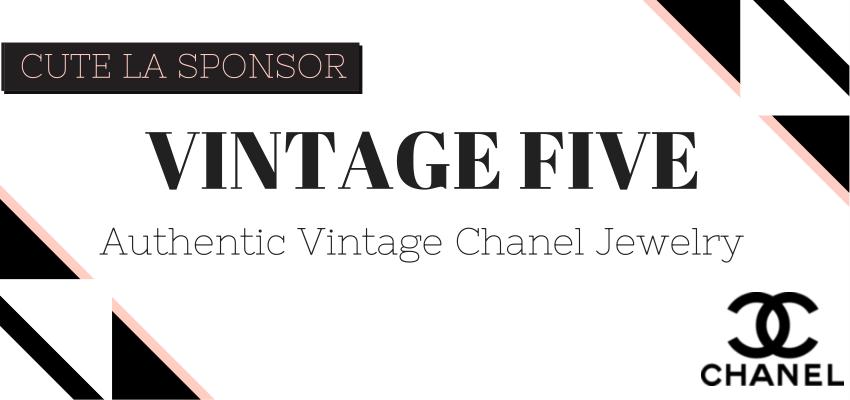 Vintage Five Authentic Chanel Jewelry via Cute LA