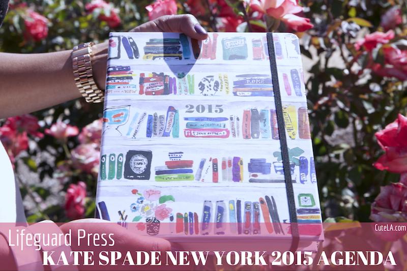 Lifeguard Press Kate Spade New York 2015 Agenda Review via Cute LA