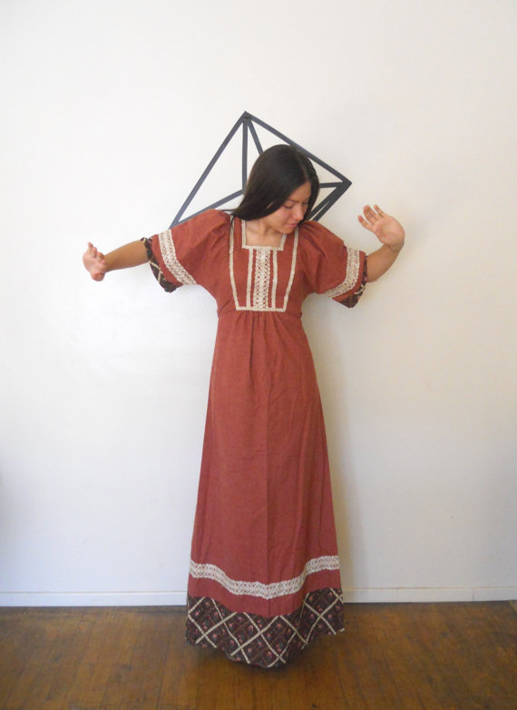 Bigna California Vintage Shop - 70's Candi Jones Dress