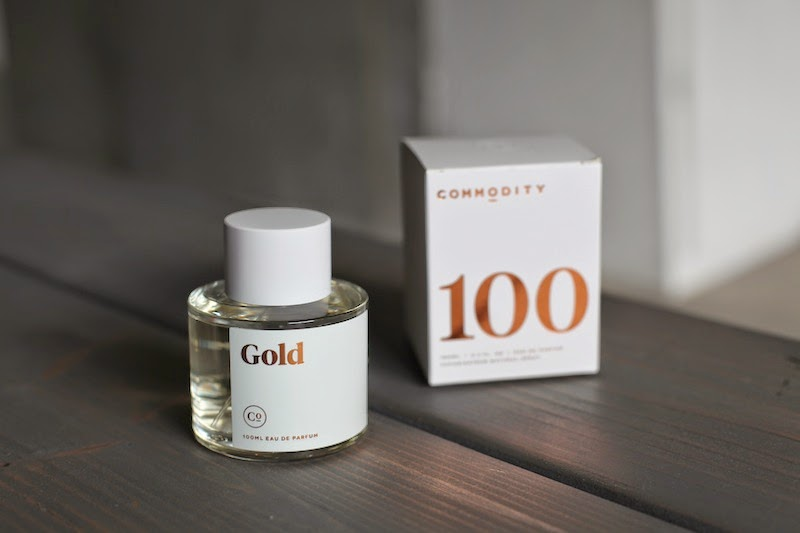 Commodity Gold Perfume fragrance full size