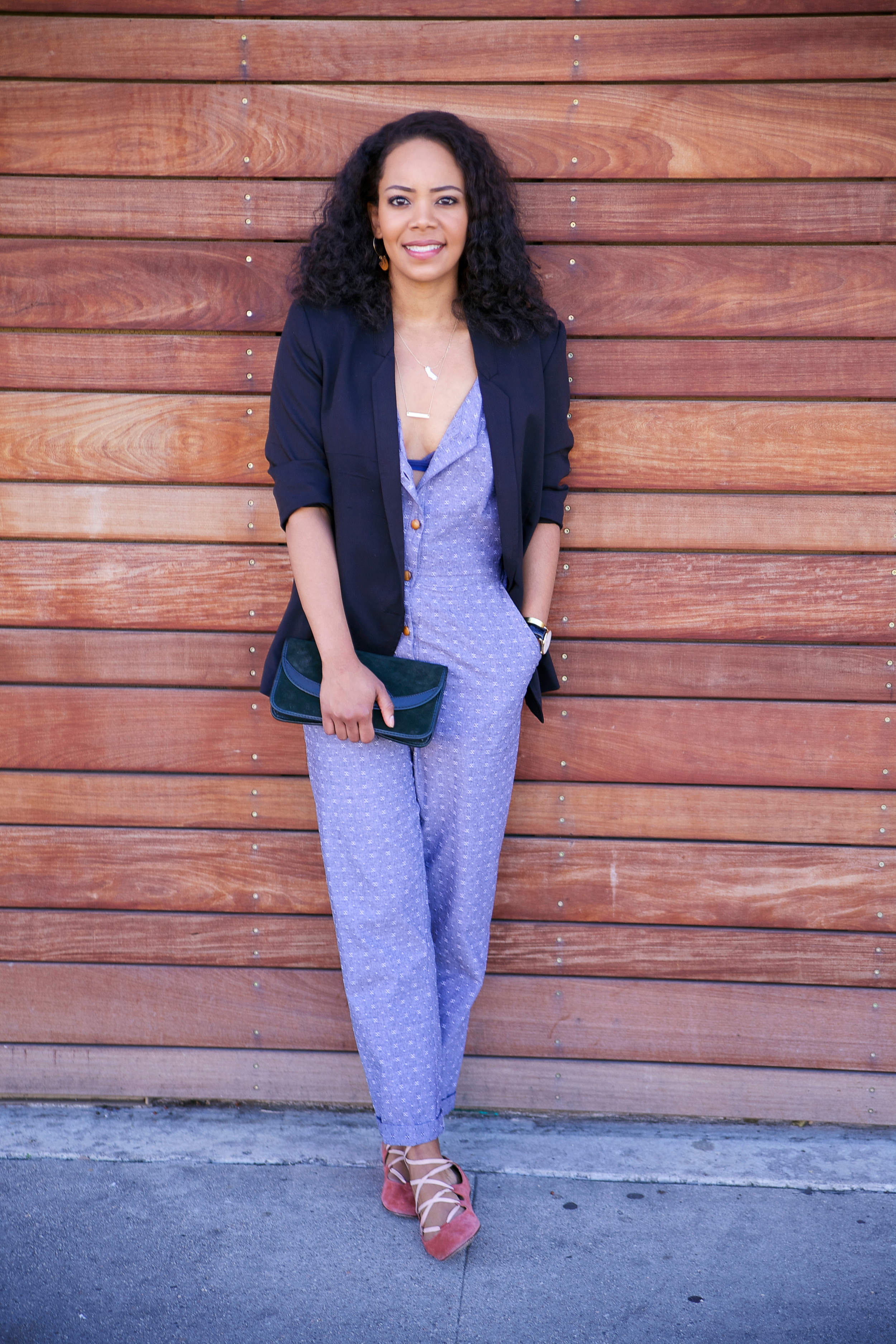 Fischer Clothing Jumpsuit via Cute LA