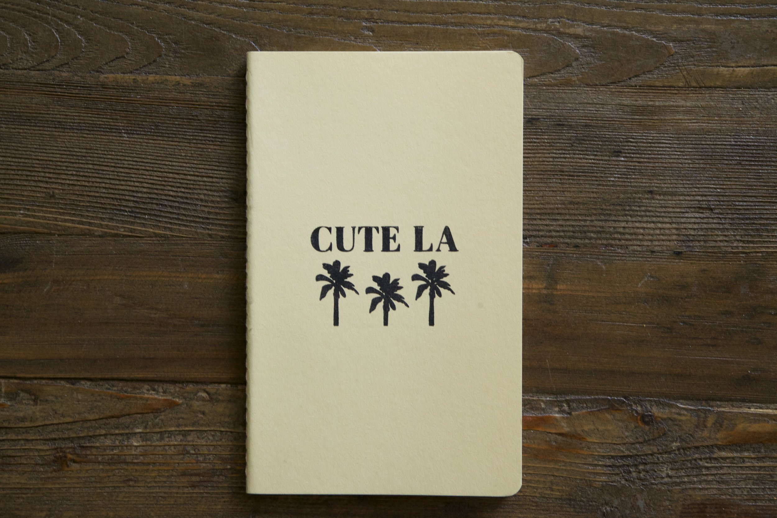 Cute LA Moleskin Notebook