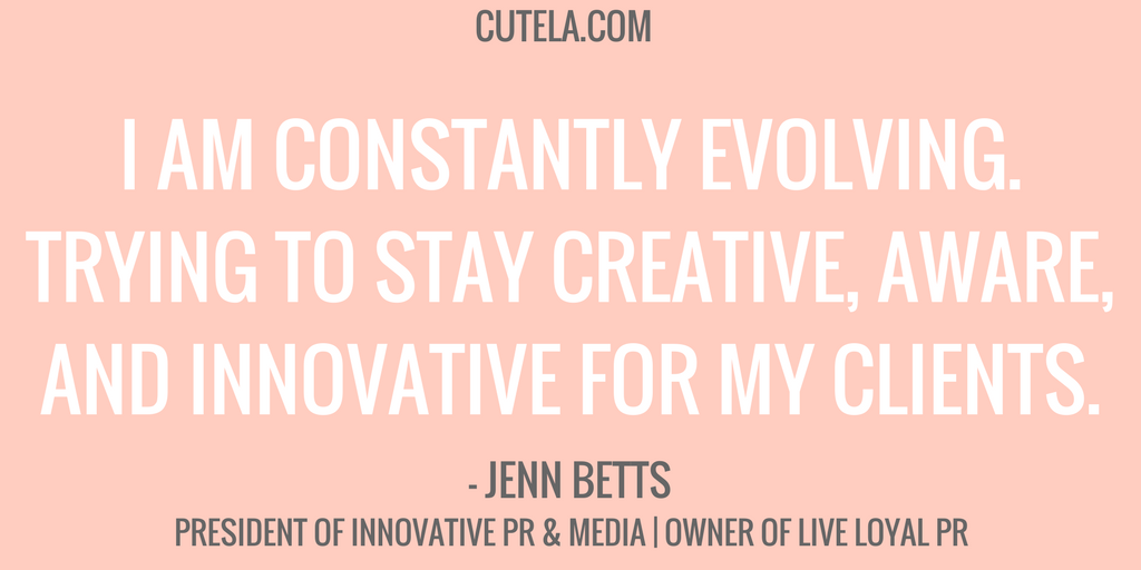 Jen Betts President Innovative PR