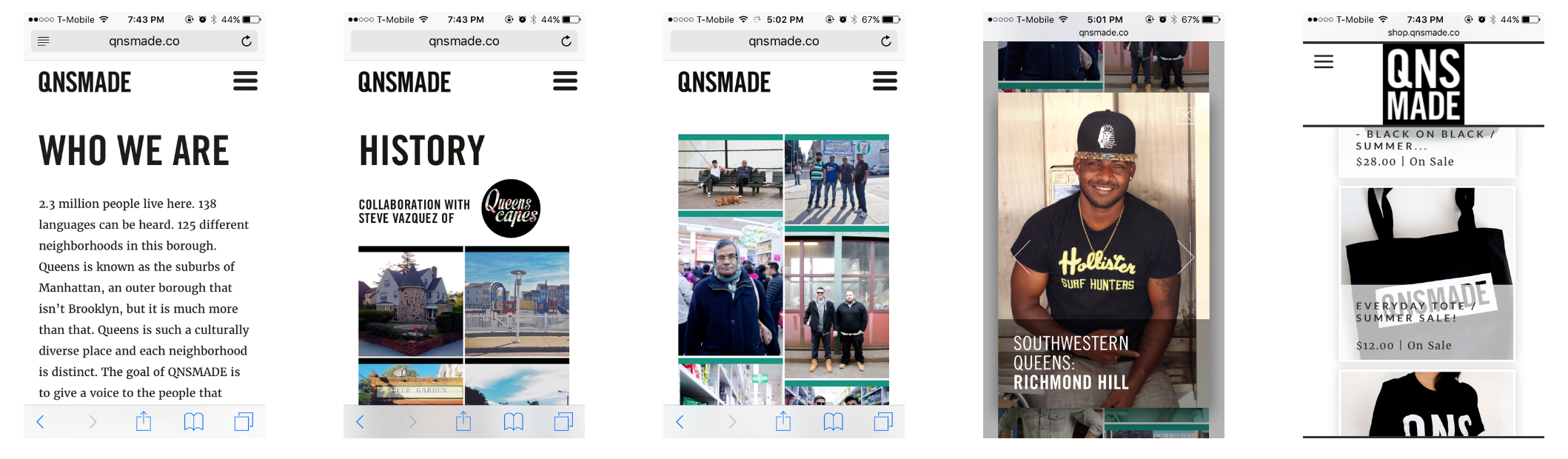 QNSMADE.CO: The mobile responsive website