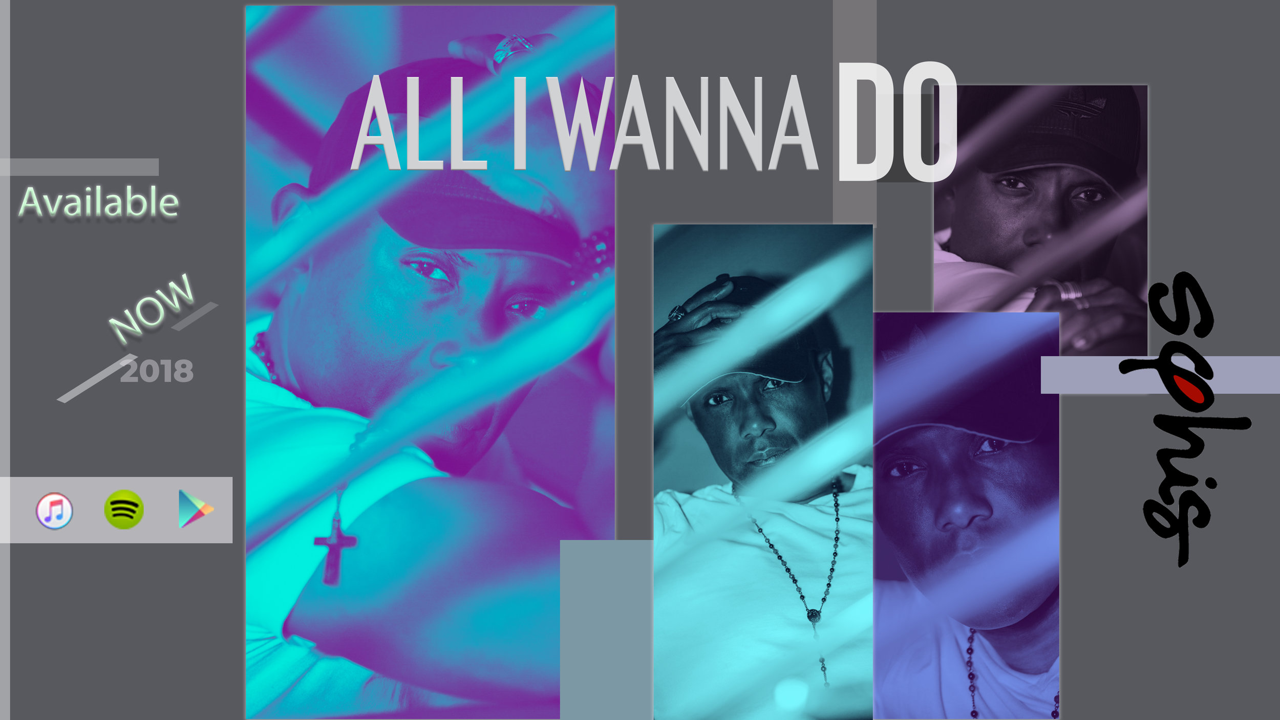 """My New Single """"ALL I WANNA DO"""" Is now available on  iTunes ,  Spotify  and other online platforms"""