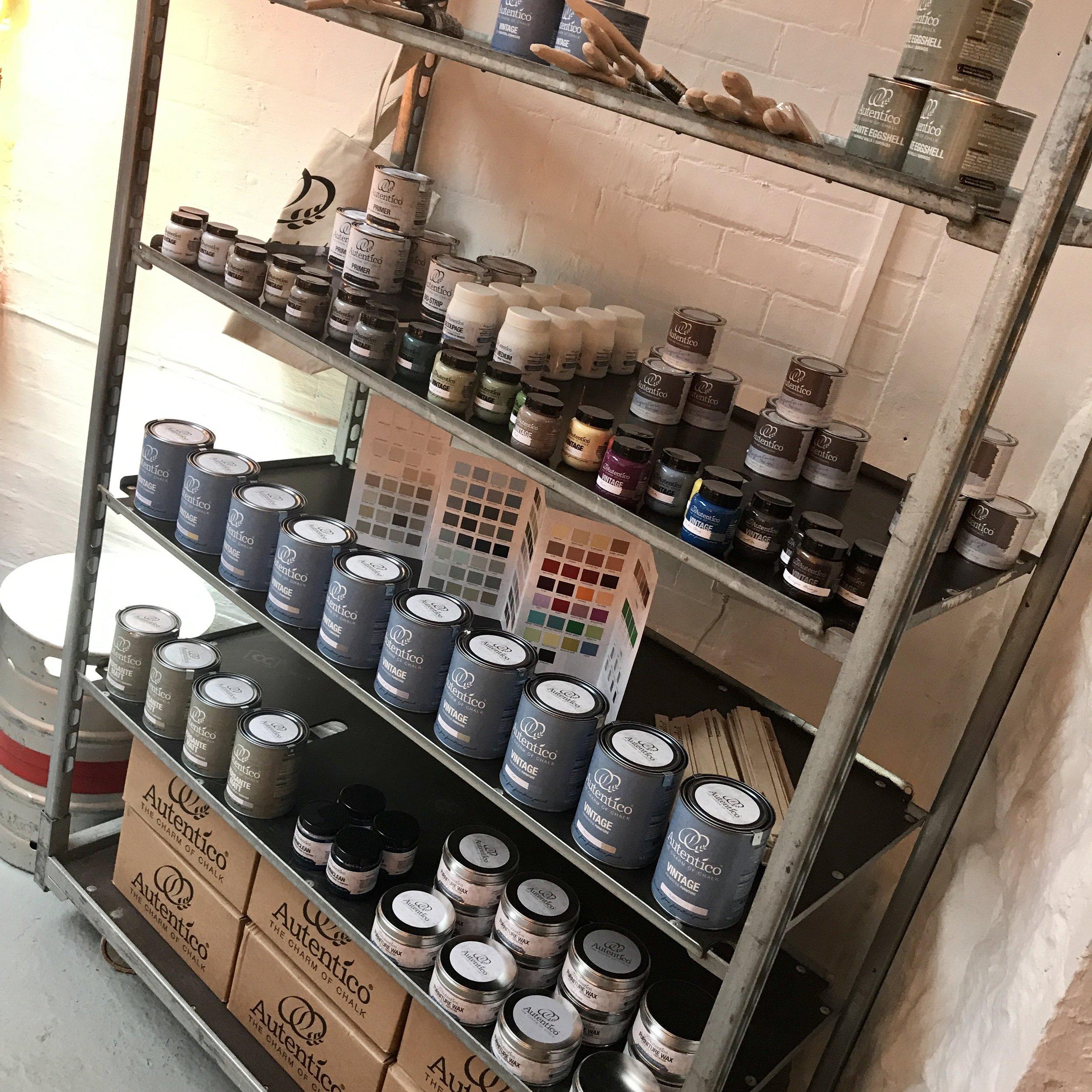 Autentico Paint Stockist - Derbyshire #thecharmofchalk