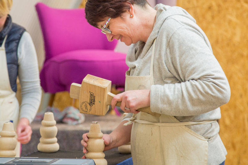Upcycled Creative Furniture Upholstery Workshops