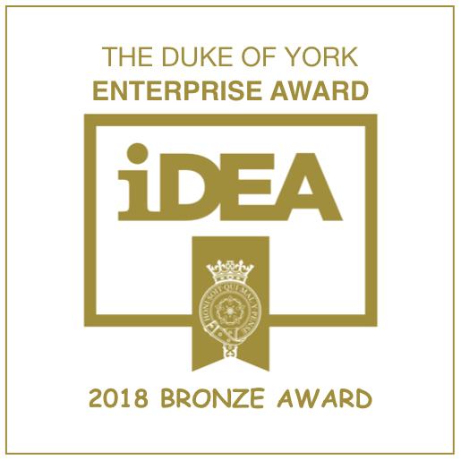 DUKE OF YORK ENTERPRISE AWARD IDEA BRONZE AWARD - UPCYCLED CREATIVE.jpeg