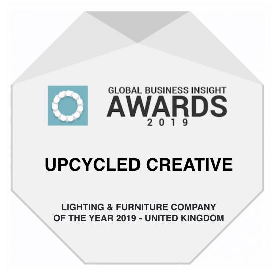 GBI Global Business Insight Awards Winner Upcycled Creative