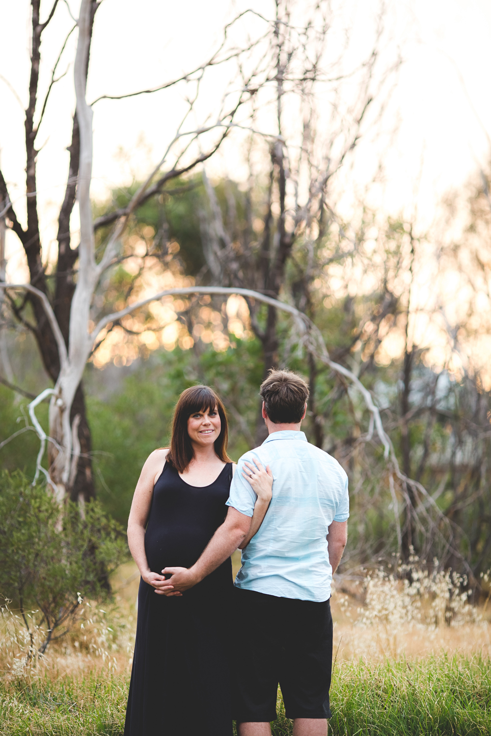 Melbourne maternity photography sunset session | Laura Coutts Photography