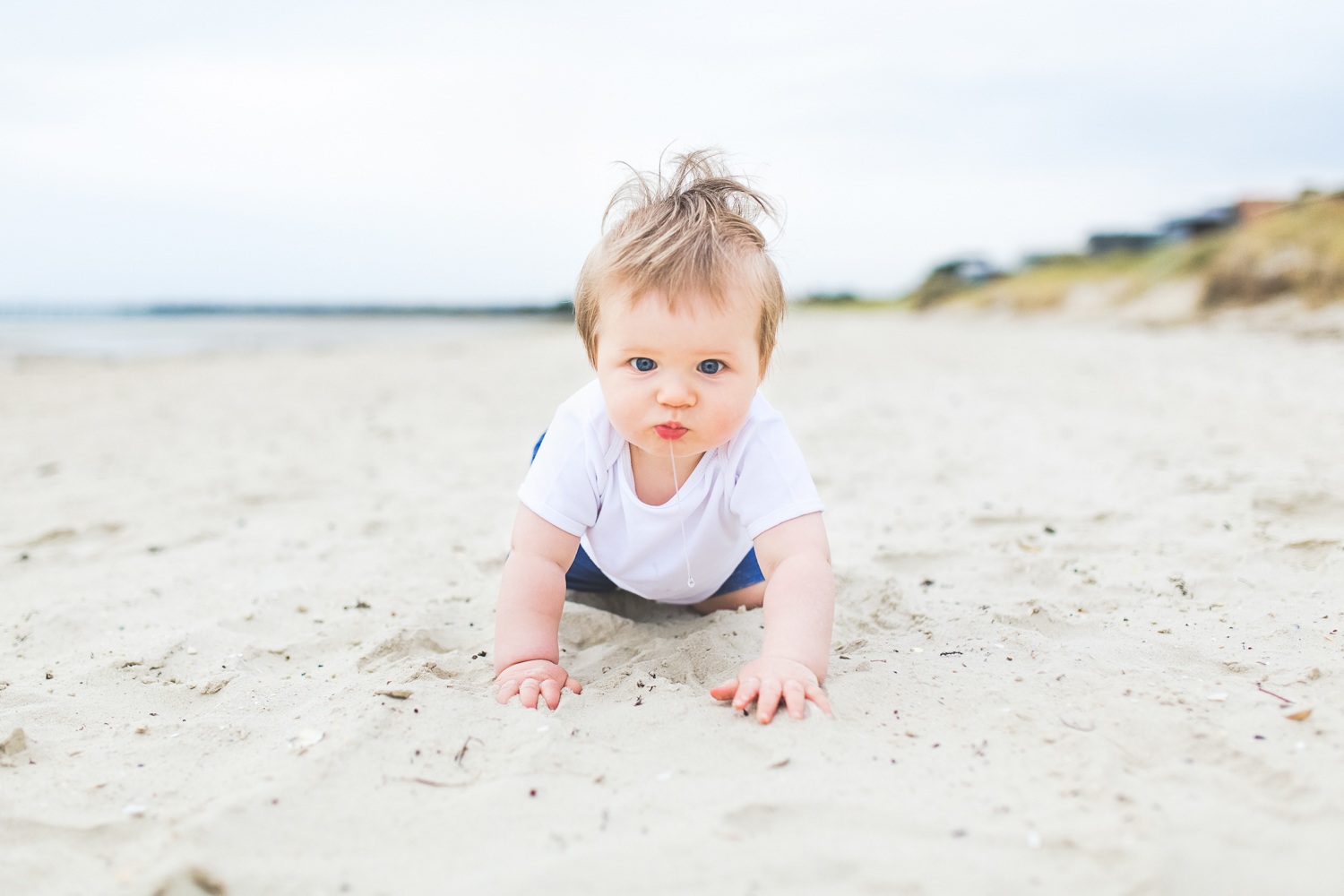 Melbourne baby photography beach session | Laura Coutts Photography
