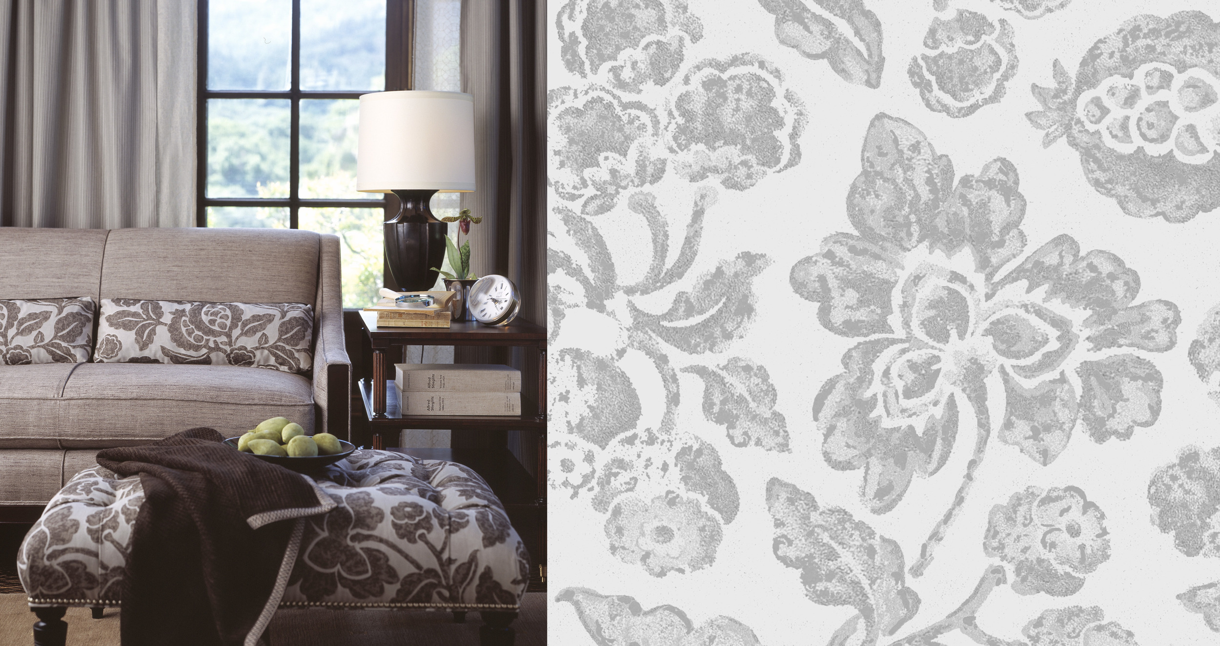 Barbara Barry for Kravet  - Five extensive collections of residential upholstery, drapery and trim created in collaboration with Barbara Barry and Kravet.