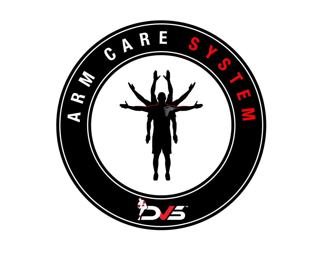 DVS Arm Care System -  The DVS Arm Care System is designed to improve the overall functionality within the shoulder by increasing the shoulder's ability to tolerate excess stress. The more stress the shoulder muscles can tolerate, the more functionality the shoulder has to do its job to throw the baseball.