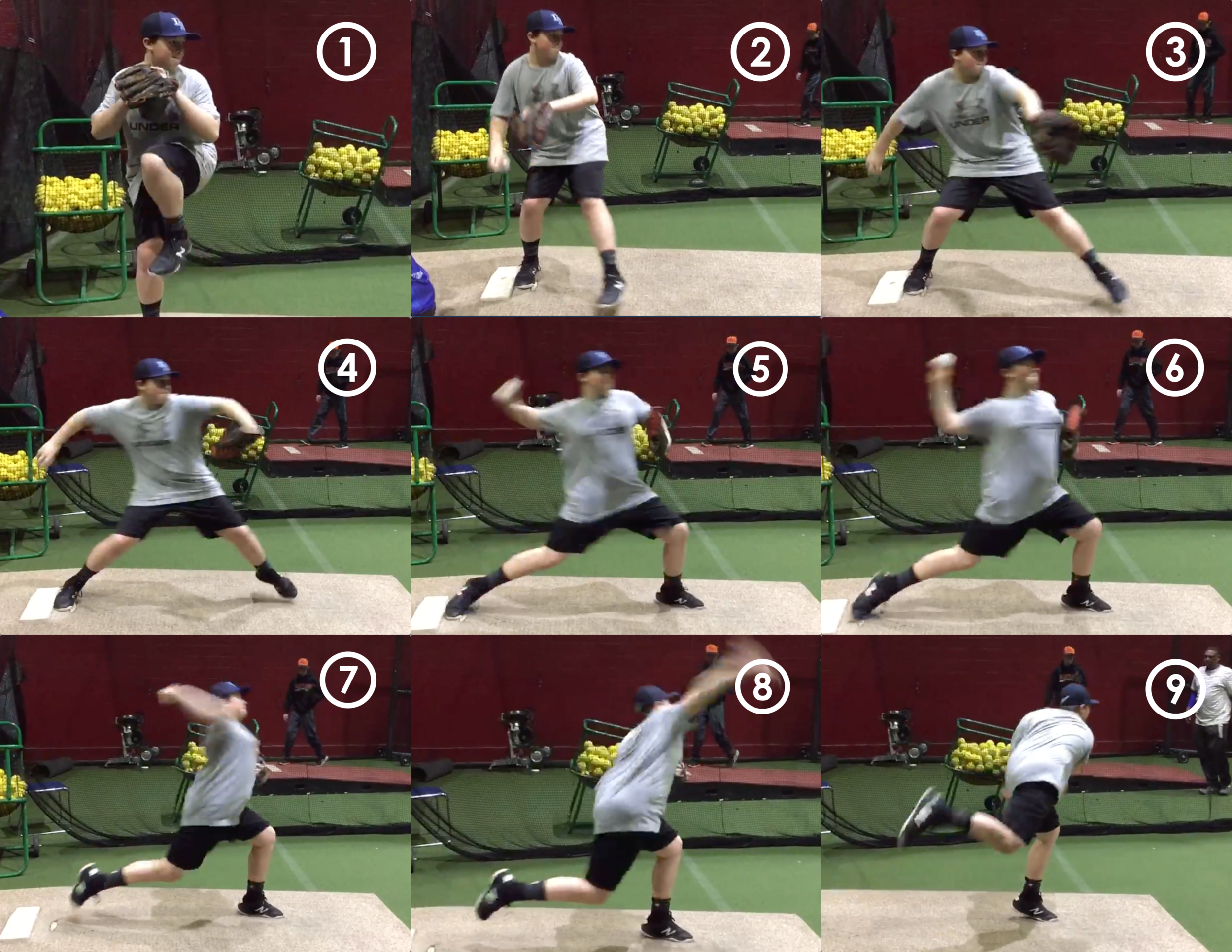 Phase Progression - Become more educated on the sequence of movements associated with an efficient throwing motion through the DVS Delivery Phase Overview. A description of each phase will also be provided so you can start relating back to your own delivery.
