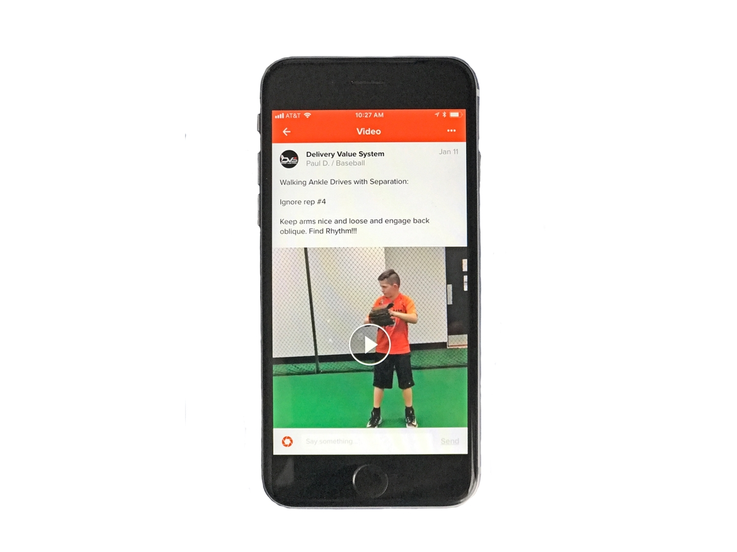 Consistent Communication - A coach will guide you each step of the way as you progress through your online training program. Our online clients can upload their videos from their phone, tablet, or computer right into their personalized training space and get instant feedback from their coach.