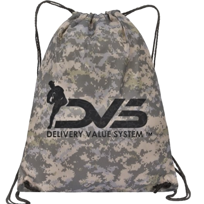 Camo bag - Your bands arrive in a DVS Camouflage bag for storing and transporting your product to and from practice/games.