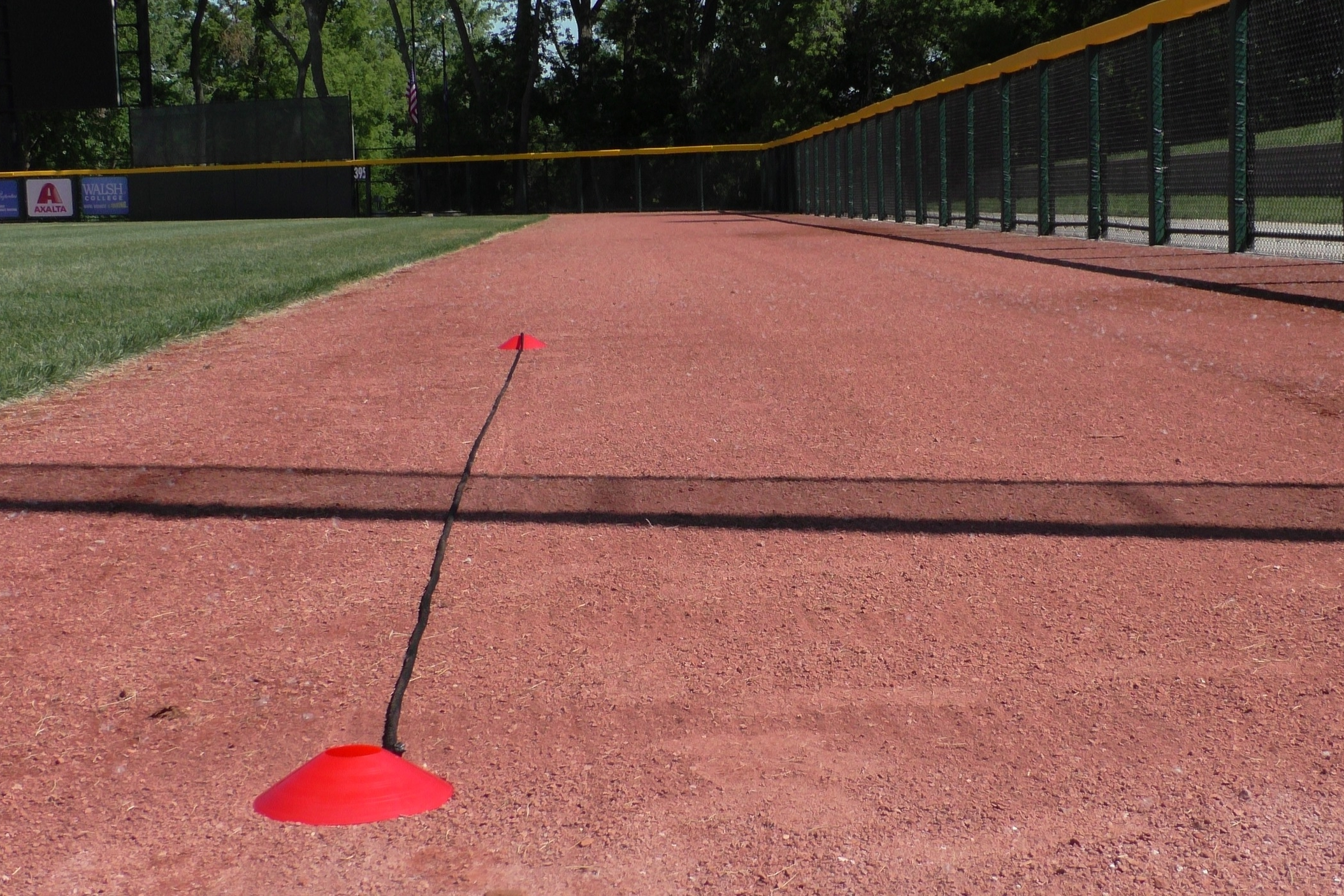 Marking off your Distances - Learn how to use cones and a twenty foot section of rope to mark off your custom throwing distances.