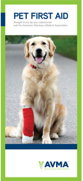 Great information on what to do if you pet needs first aid.