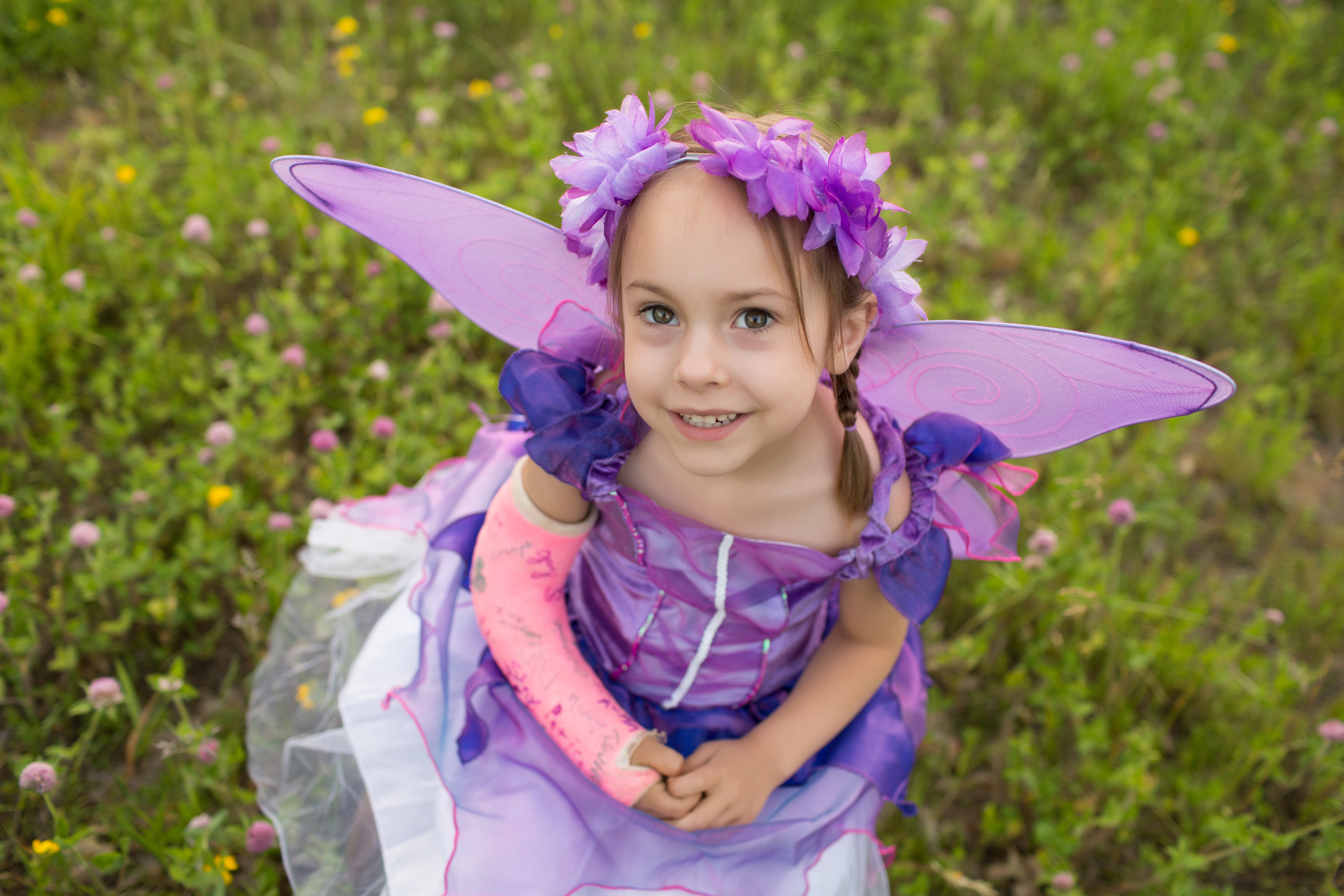 Rochester Pediatric Dentistry Child in Fairy Costume