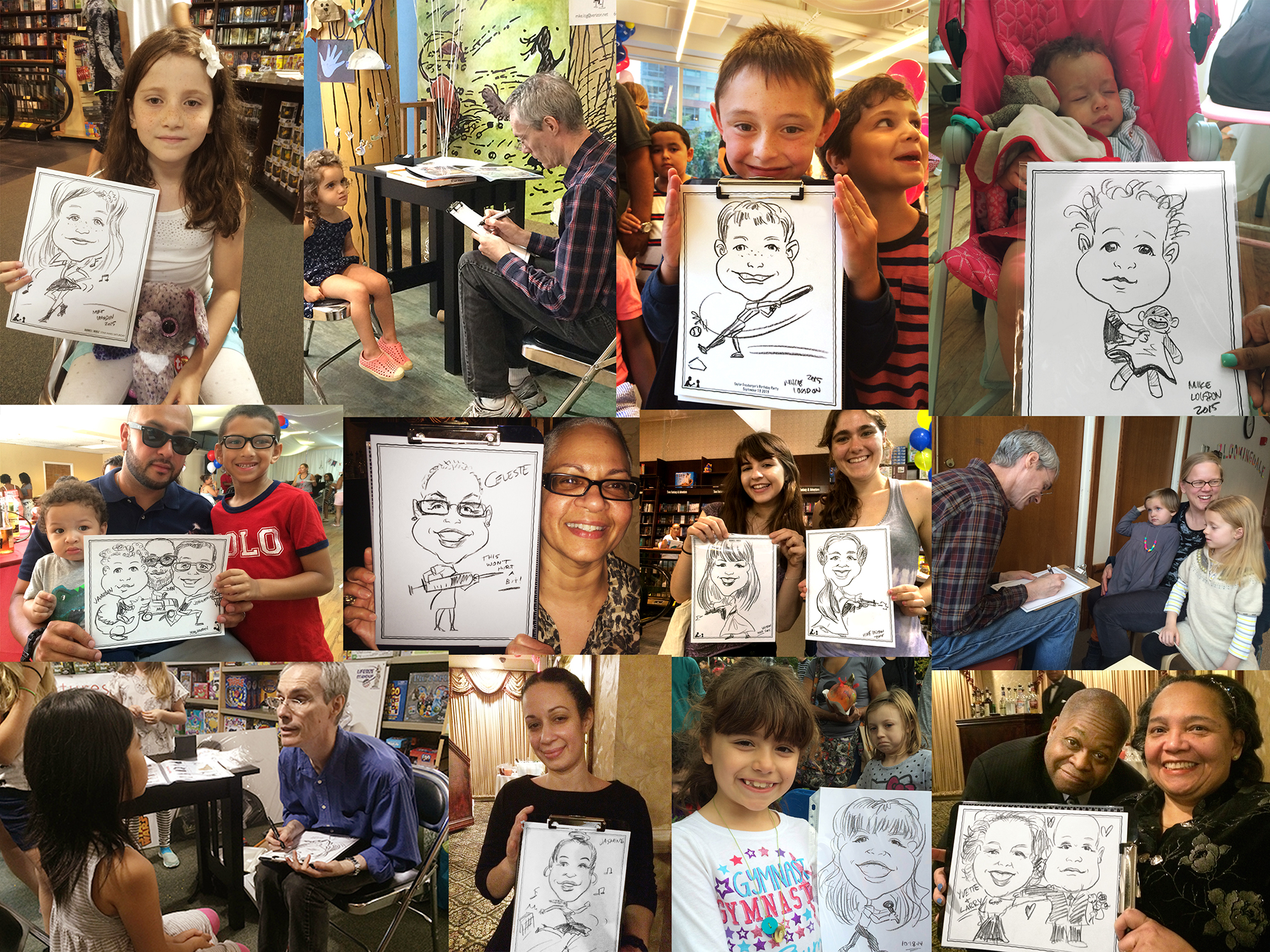 Draw My Party Event Caricatures