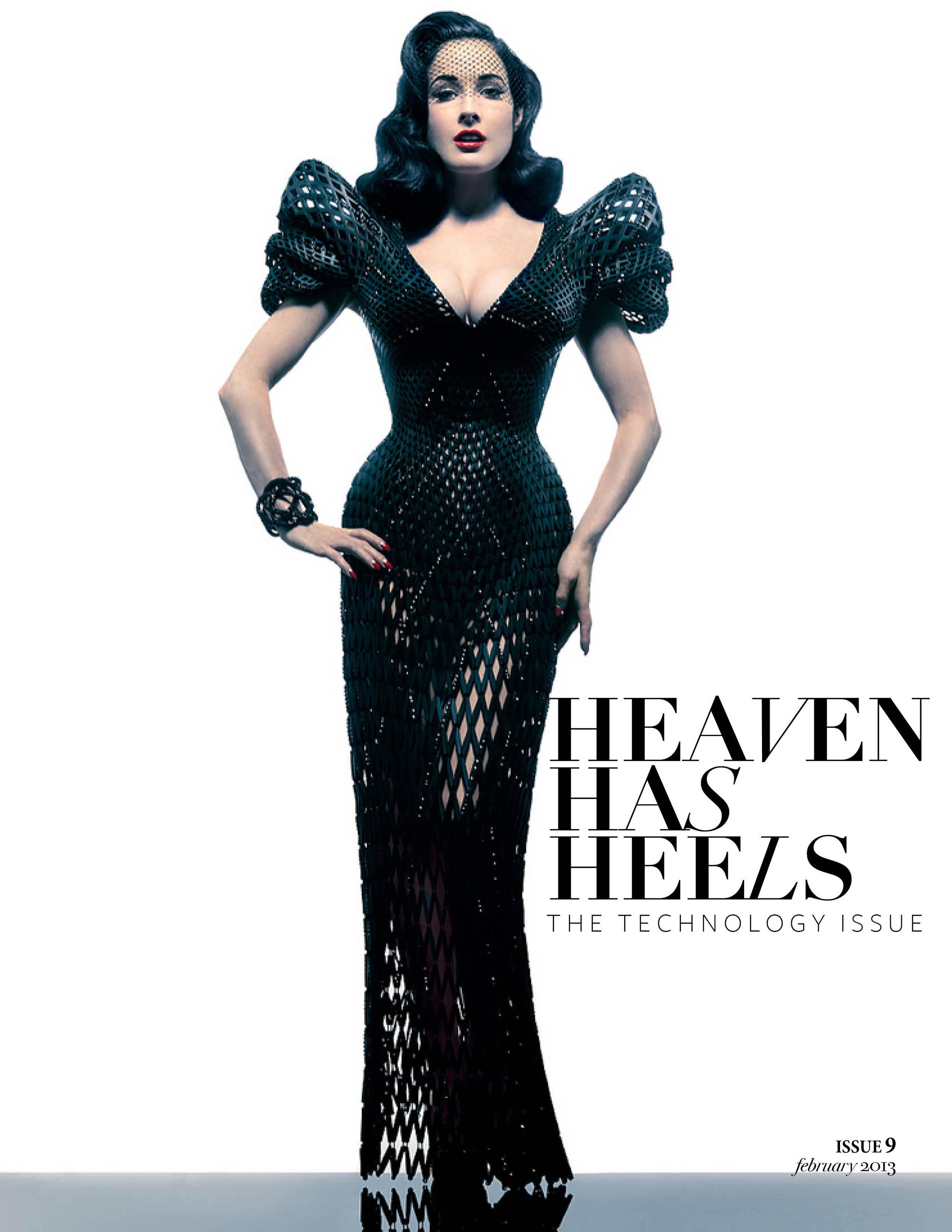 Heaven Has Heels Magazine | February Issue